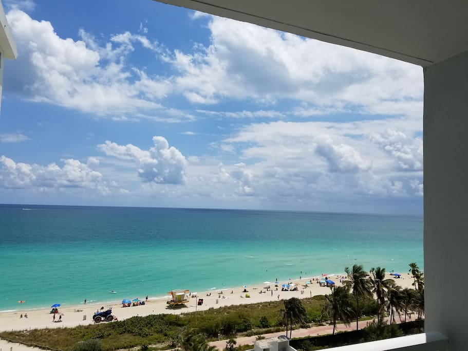 Amazing Ocean Views from Unit balcony