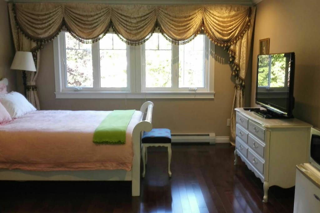Large lux Room with beauty view! fully loaded. Max 3 guests.