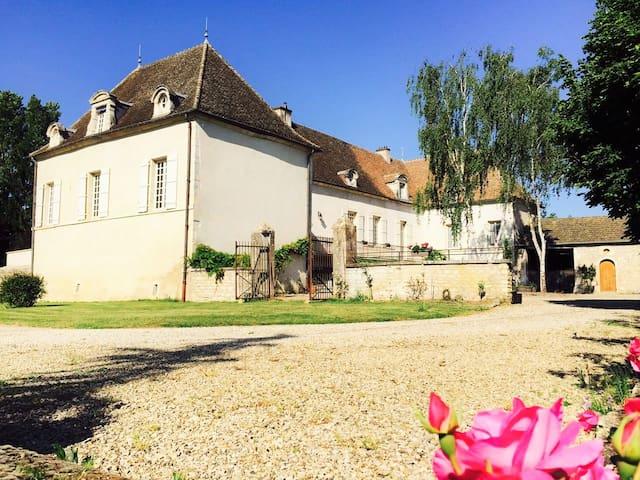 Jr Suite au Domaine Pont Juillet - Fontaines - ที่พักพร้อมอาหารเช้า