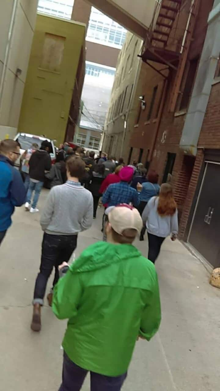 downtown alleyway tour
