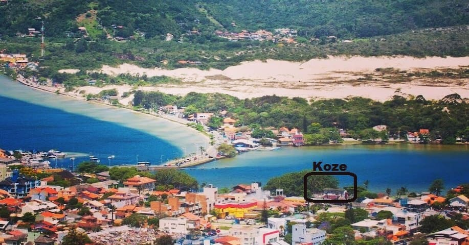 Lagoa da Conceição, Hospede-se na beira da água