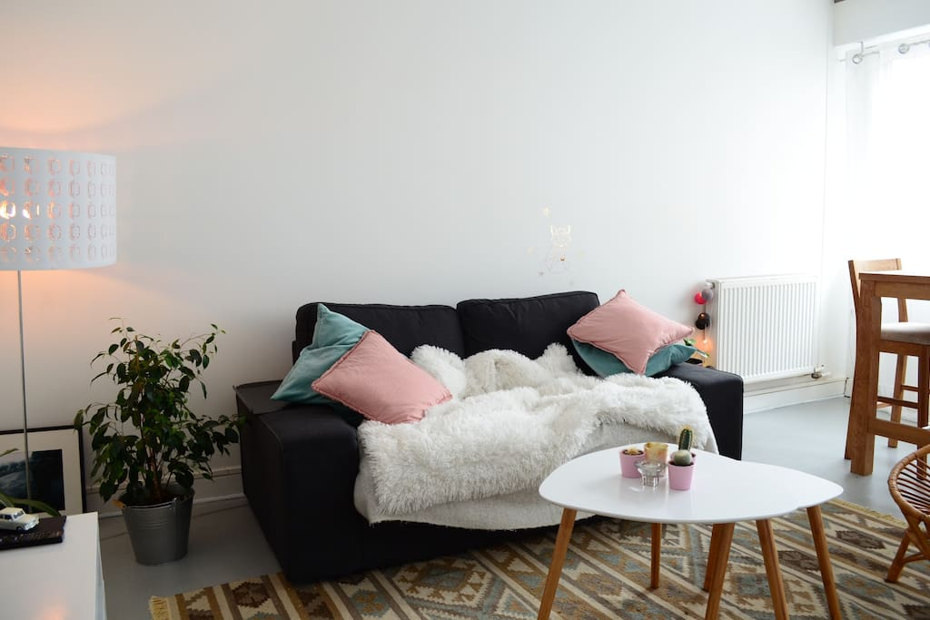 Cozy and lightful living-room