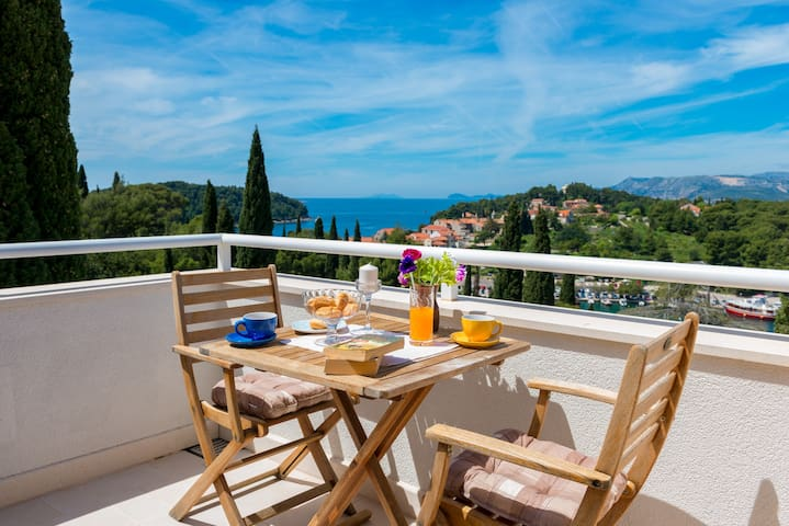 Villa Marlais - apartment A3 - Cavtat - Appartement