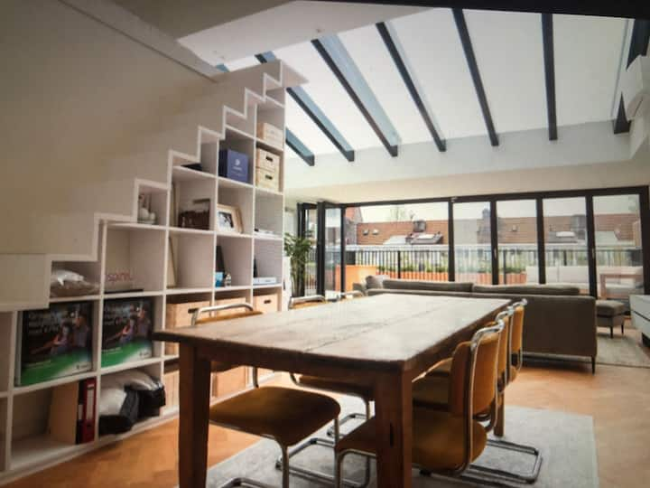 Fantastic Loft-Penthouse in Amsterdam South !!