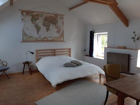 Habitación acogedora y tranquila en el centro de Bélgica!