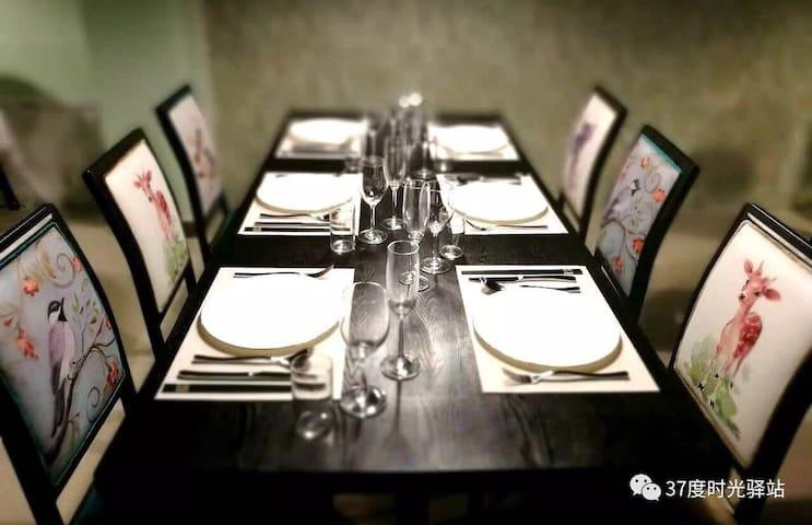 餐桌礼仪,精美的餐具,为您提供完美的用餐体验