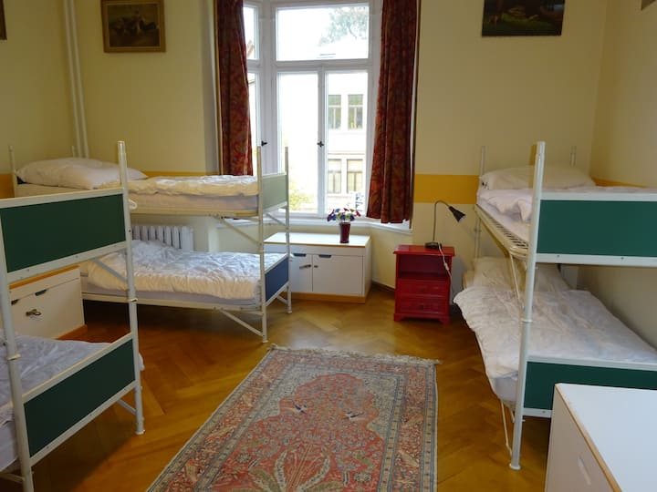 Large room in historical town villa (202)
