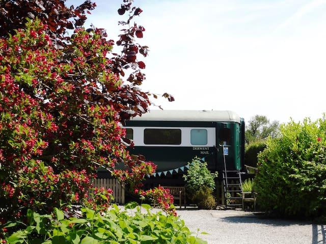 Skipwith Station Holidays - Derwent Mail Carriage