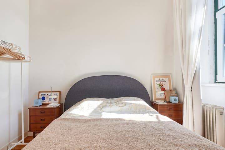 bedroom - river view