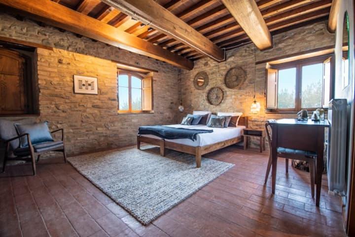 Caterina Double Room @Borgo Castello Panicaglia