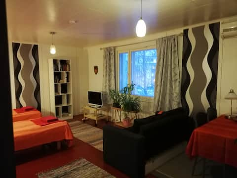 Charming Apartment in Central Mikkeli