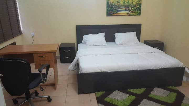 Air conditioned, furnished room in Wuse 2, Abuja