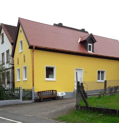 Antik, hell, stilvoll - EG - FeWohnung Bamberg/Bug - Bamberg - Apartemen