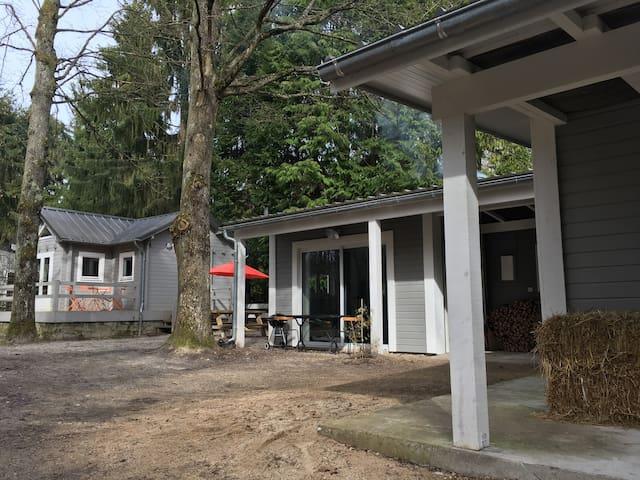 les 3 gites - l'écurie - Noisy-sur-École - Bungalow