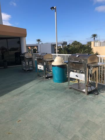 On site grilling area