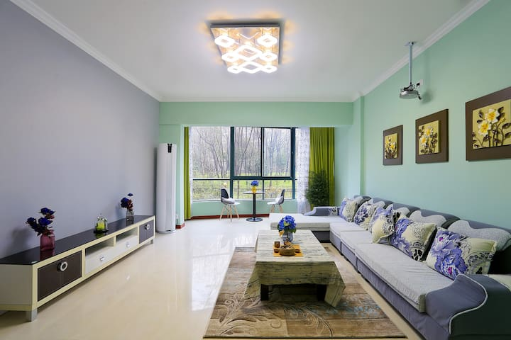 鹿驻-武汉·东湖名邸·东湖畔四居室 - Wuhan - Apartment