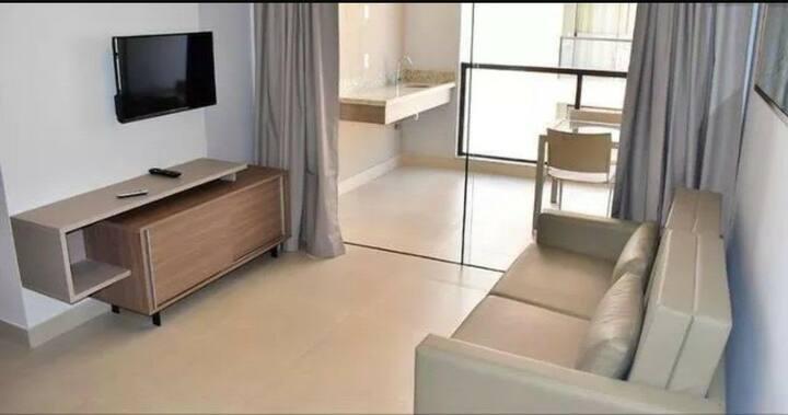Flat in Resort c/ 2 Quartos Caldas Novas -GO