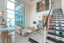 Graceful Seaview Duplex 2BR @ Georgetown