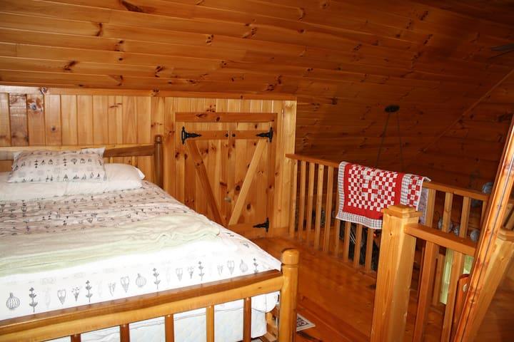 Open Loft Bedroom