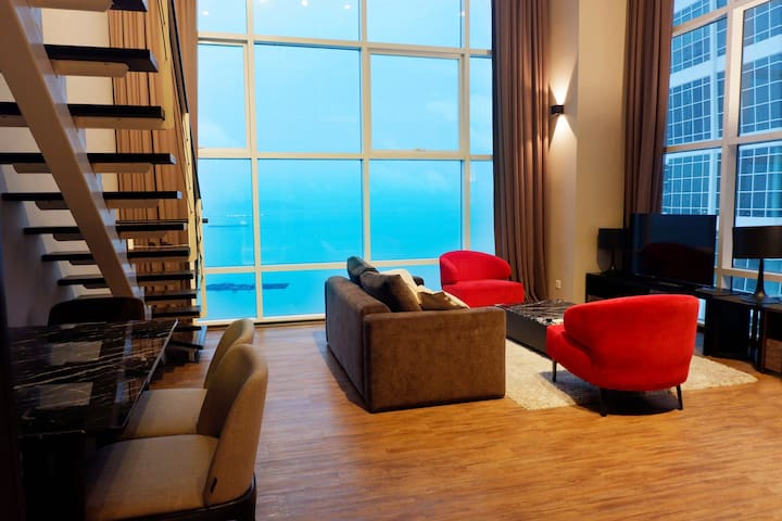 Luxury Maritime Suite @ Georgetown Penang 槟之海景
