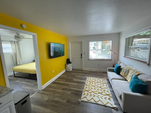 Spacious luxury apt across from famous Cocoa Beach