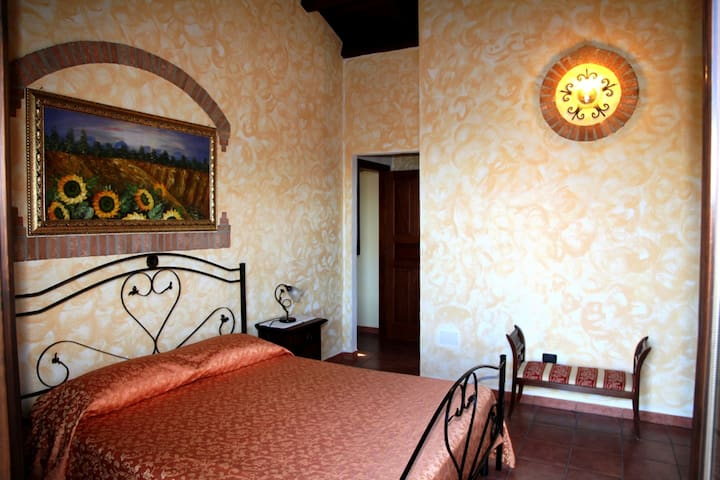 Camera Vista Isole Eolie; Relax con Piscina - Reitano - Bed & Breakfast
