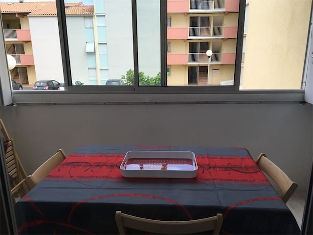 Capo G 162 - NARBONNE-PLAGE : nice 1-bedroom flat