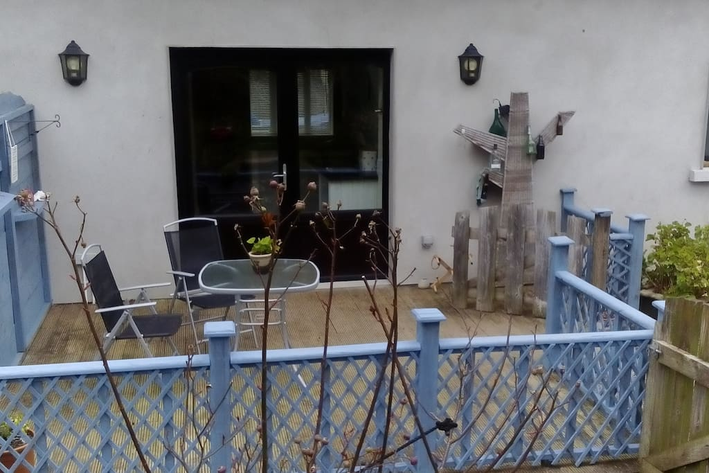 Own decking area