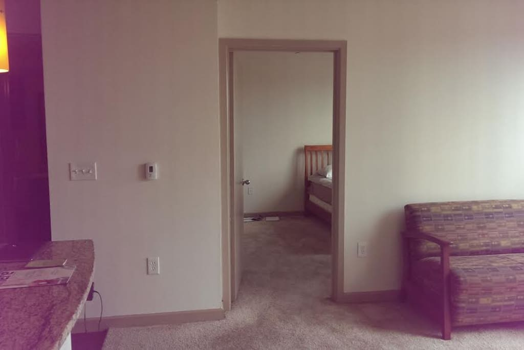 Sightline from Living to Bed Room