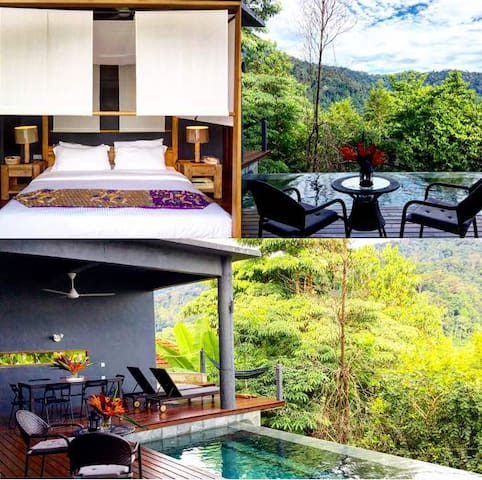 Begonia Pool Suite, Personal Pool Villa @ Shorea,