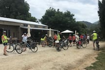 Destination for Cyclists on the Great Taste Trail