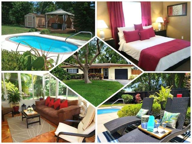 Sunny home in Paradise - near Spectacular Beaches!