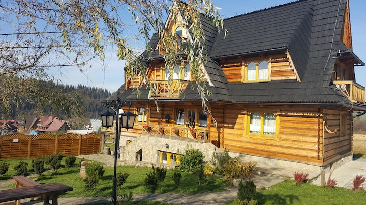 Osada na Brzyzku Luxury Chalets for 20 persons