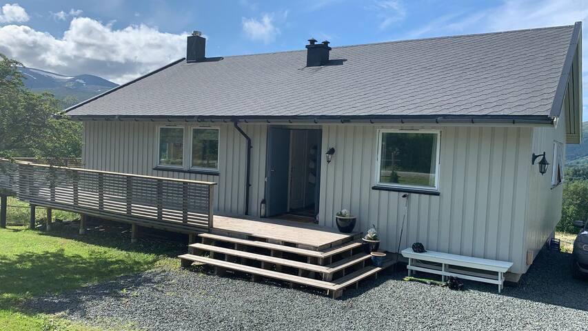 Idyllisk og  moderne hus i Meråker leies ut!