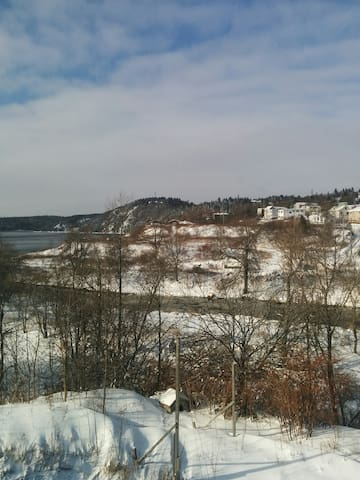 Room available in two unit home near SJ River - Saint John - Dom