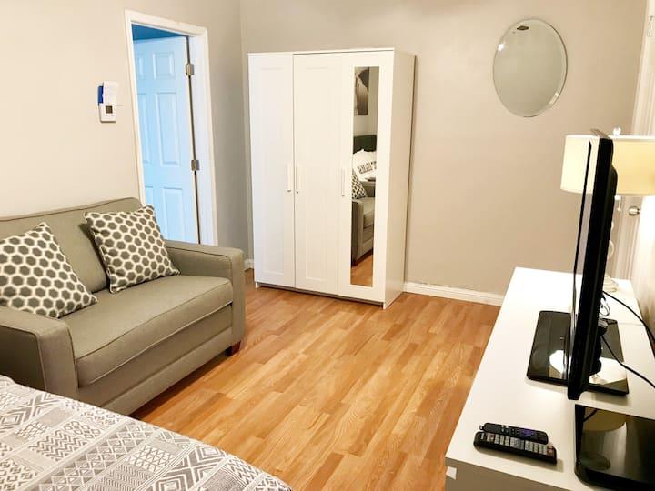 One Bedroom In-Law Studio w/ Private Entrance