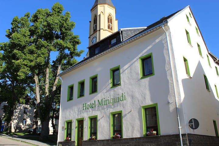 Zentrale Lage in Oberwiesenthal
