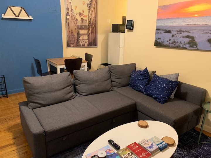Sunny West Village 1 Bedroom, No Stairs