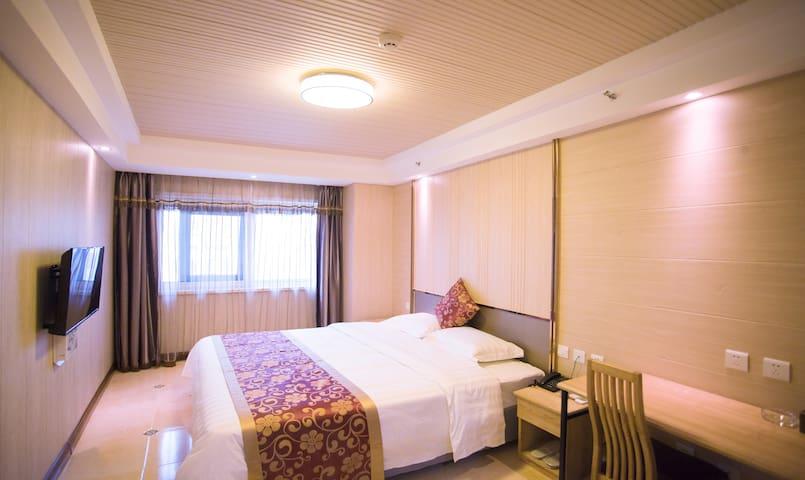 大连金州区悦庭酒店式公寓豪华大床房 - Dalian - Mobilyalı daire
