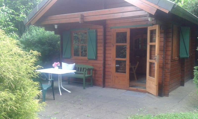 Blockhütte auf dem Lande - 18 min von Bremen