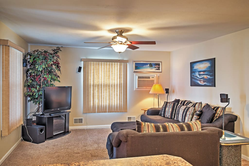 The home boasts over 1,800 square feet of tastefully appointed living space.