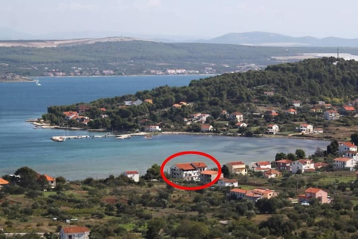 Studio flat near beach Mrljane, Pašman (AS-8464-a) - Mrljane - อื่น ๆ