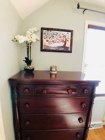 Antique Mahogany  Dresser with lots of space