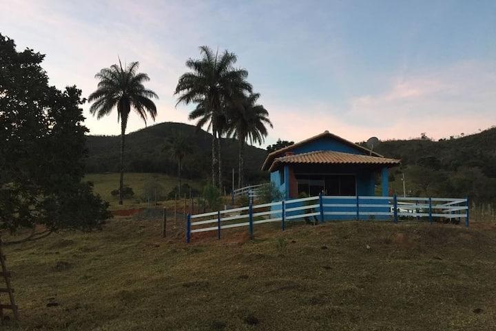 Chalé Macaúbas - Natureza e tranquilidade da roça
