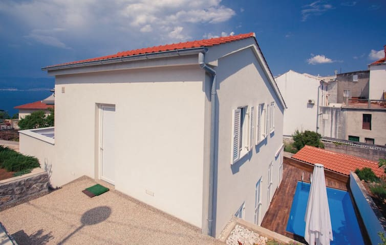 Sea view apartment Trick in the centre of Vrbnik - Vrbnik - Appartement