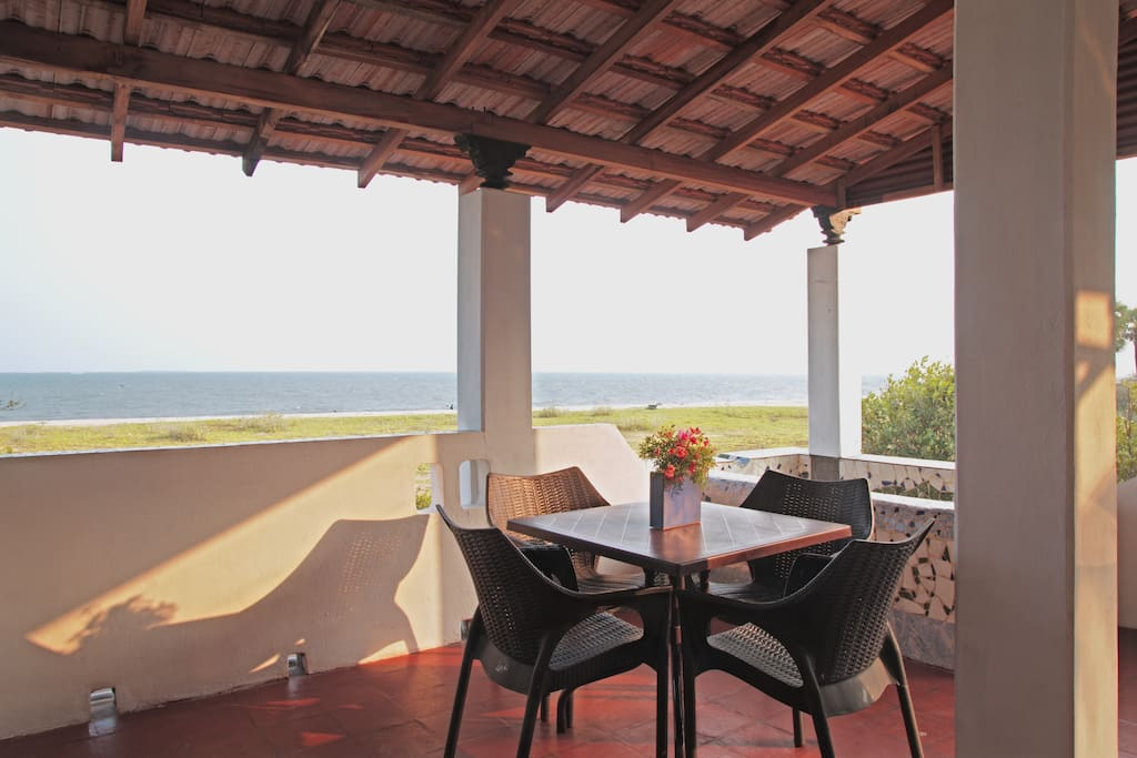 sea view dining verandah