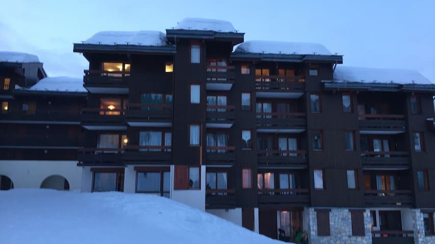 Valmorel appartement 4 pers. AU PIED DES PISTES