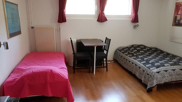 Hübsches, unabhängiges Zimmer in Nidau