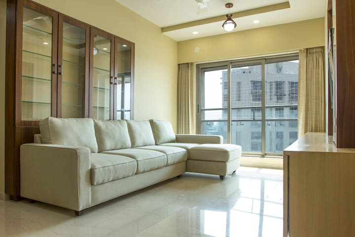Newly Furnished Luxurious 3 BHK Apartment