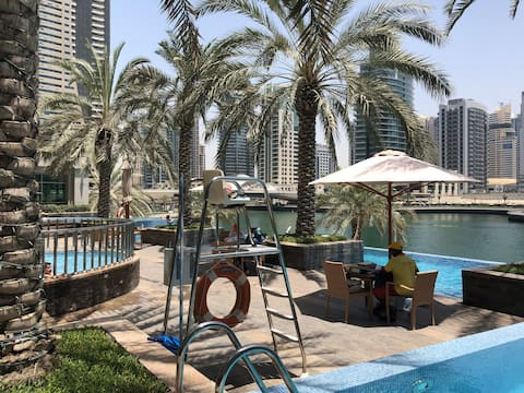 Master room  in Dubai Marina,1 min walk to JBR